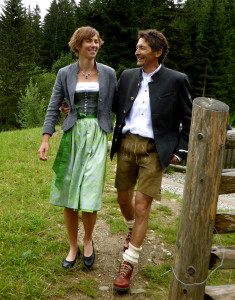 Gastgeber Karin und Peter Apartment Montanara