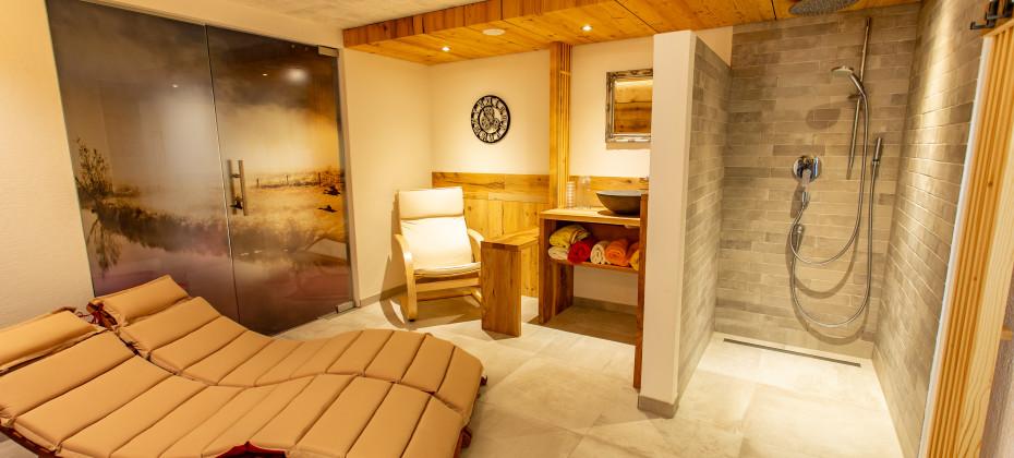 Saunabereich Apartment Montanara
