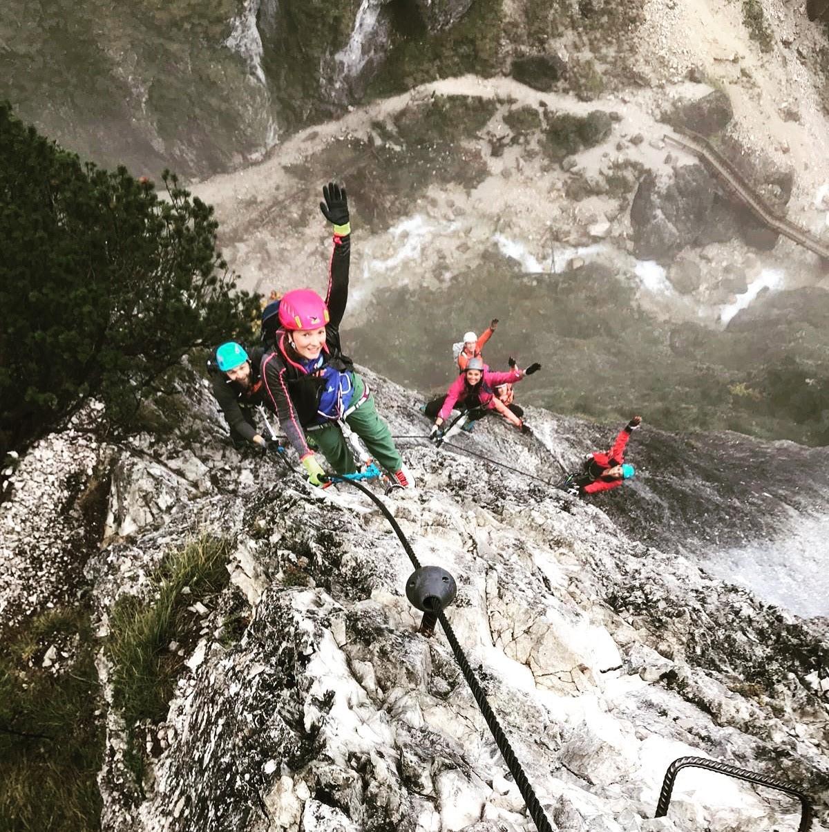 Klettersteigführung-Apartment Montanara