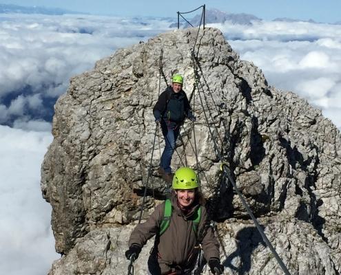 Apartment Montanara - geführet Klettersteigtour am Dachstein Massiv