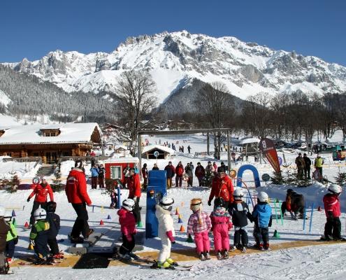 Skischule Ramsau - Winterurlaub im Apartment Montanara